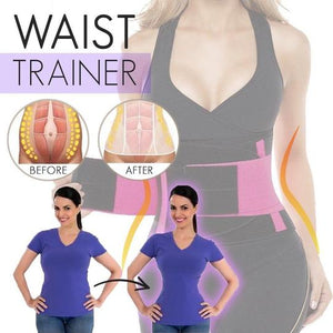 SLIM™ - Daily Waist Shaping Belt with lower back support (2019 Upgraded Version) - Pink / M - Awesales