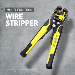 NEC™ - Self Adjusting Easy Wire Stripper - Yellow - Awesales