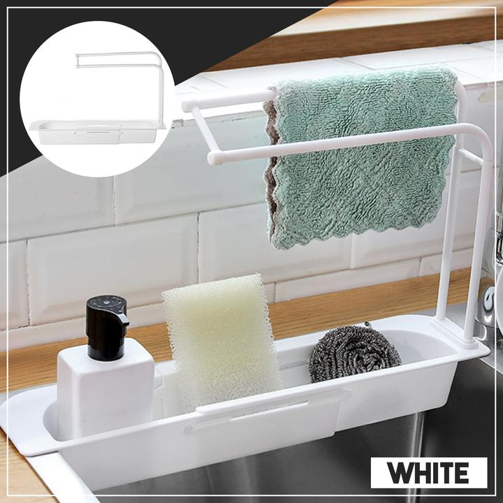 Kitchenware Rack - White - Awesales
