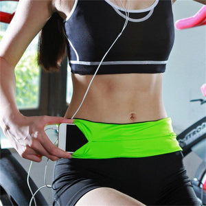 Exercise Waist Belt - Green S - Awesales