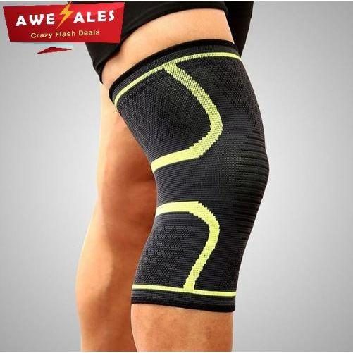 Kneer™ Brace - Knee Compression Sleeves Support - Green / XL - Awesales
