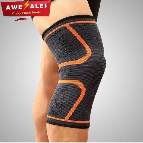 Kneer™ Brace - Knee Compression Sleeves Support - Orange / XL - Awesales