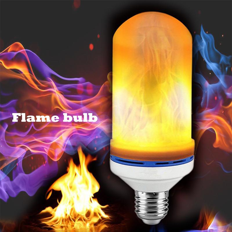 LED Flame Effect Fire Light - LED Light - Awesales