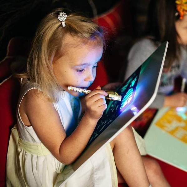 Draw With Light - Fun And Developing Toy - Awesales