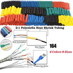 NEC™ - Polyolefin Shrinking Assorted Heat Shrink Tube - - Awesales