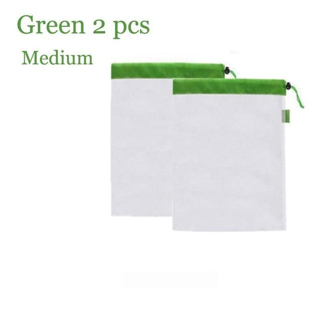 Waste Free & Reusable Bags - 14x12 inches - Awesales