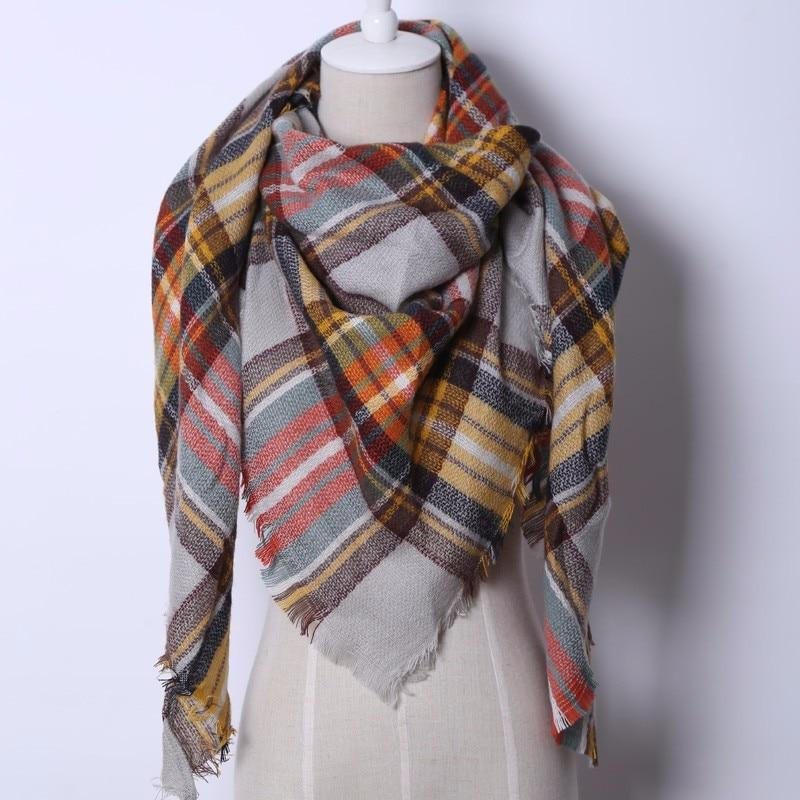 Winter Triangle Scarf For Women 2019 - - Awesales