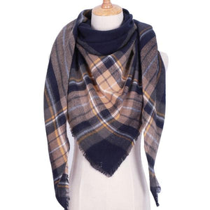 Winter Triangle Scarf For Women 2019 - BlackGold - Awesales