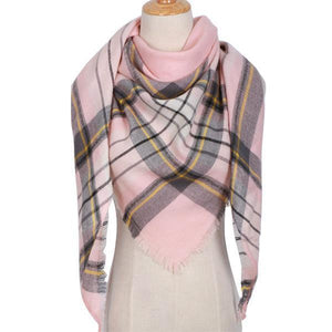 Winter Triangle Scarf For Women 2019 - PinkGreys - Awesales