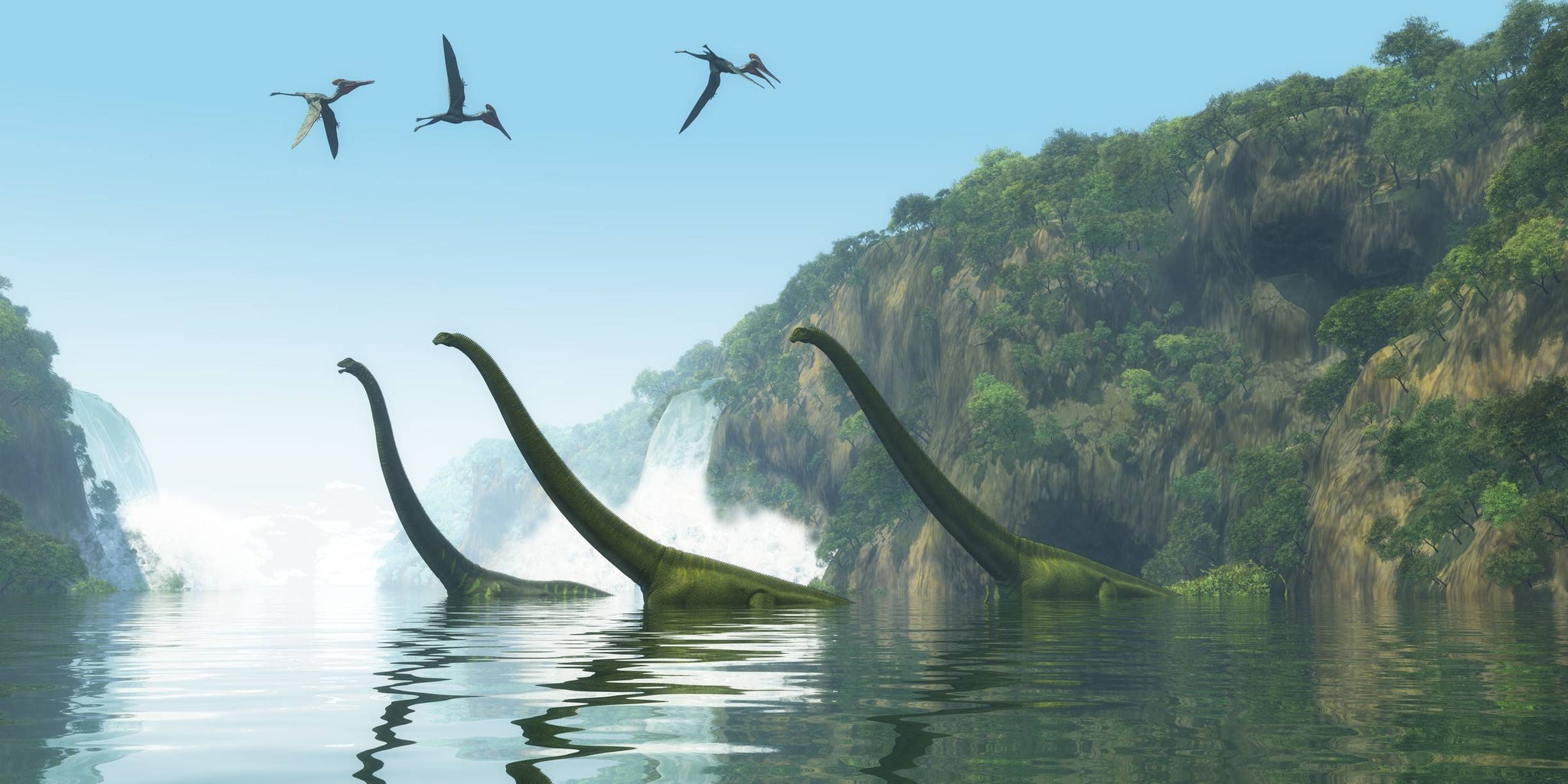 brachiosaure plus grand dinosaure