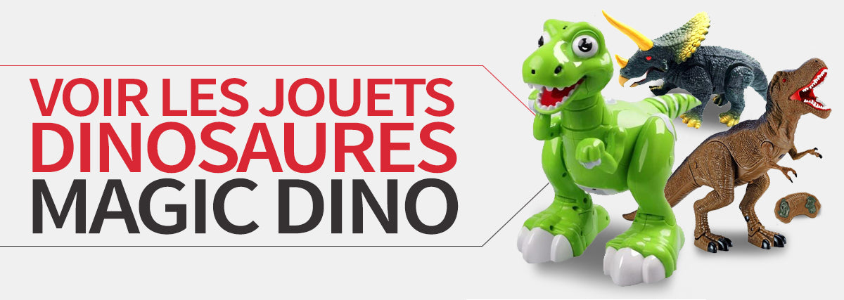 collection jouets dinosaures magic dino