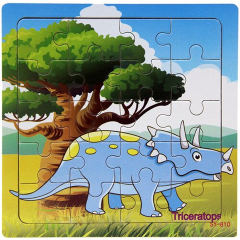 puzzle dinosaure 3 ans triceratops