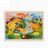 puzzle dinosaure 5 ans 100 pieces observation