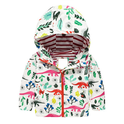 manteau dinosaure girly