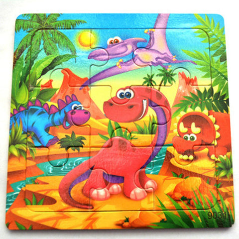 puzzle dinosaure 2 ans bebes dinos