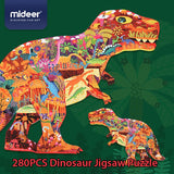 puzzle dinosaure t rex sauvage