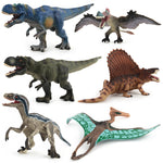 collection complete figurine dinosaure pterodactyle