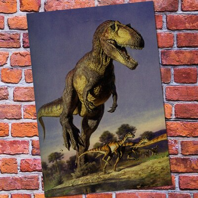 decoration dinosaure poster t rex
