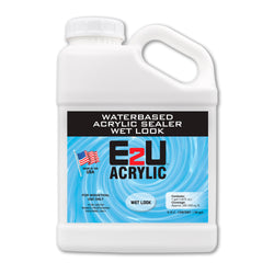 E2U Waterbase Acrylic Sealer Wet-Look