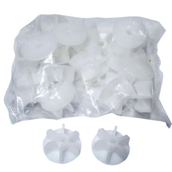 "1/4"" END CAPS, bag of 24"