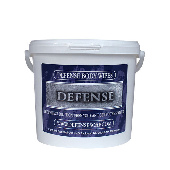 Defense Soap Wipes 400 count  Team Size