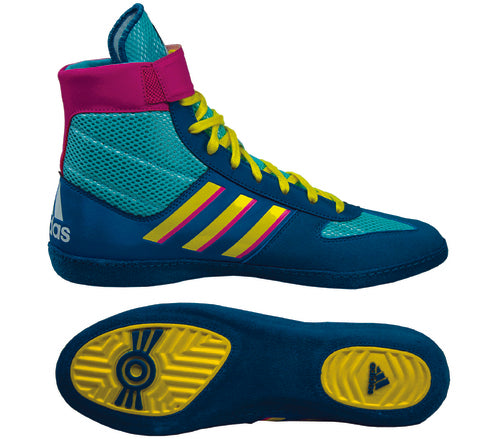 Adidas Combat Speed 5 Aqua -Yellow -Teal