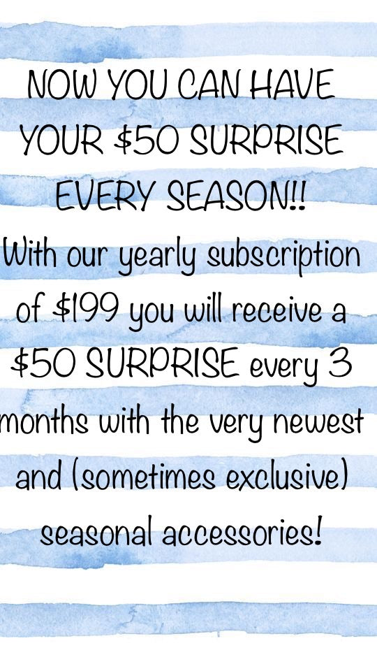$50 Surprise Subscription