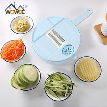 Load image into Gallery viewer, Mandoline Slicer Multi-Function Cutting Food Potato Carrot Veggie Grater Chopper Kitchen Cutting Machine Cheese Grater
