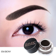 Load image into Gallery viewer, IMAGIC New Arrivals  Professional Eyebrow Gel 6 Colors High Brow Tint Makeup Eyebrow Brown Eyebrow Gel With Brow Brush Tools