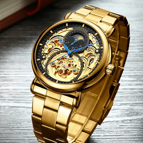 Men Watch Top Brand Luxury  Watch Full Steel