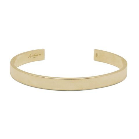 Basique - Brass Cuff - Polished