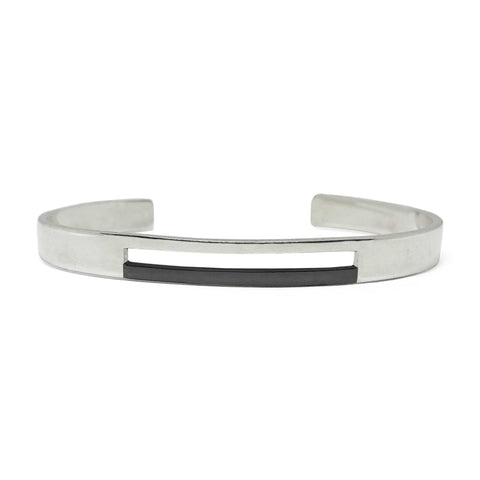 Binary - Black Rhodium Cuff