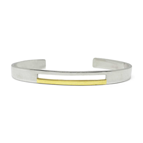 Binary - Cuff - Gold