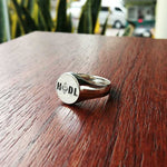 hodl ring silver ethereum eth cryptocurrency