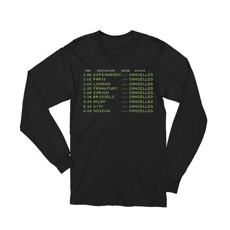 Flight Status Longsleeve