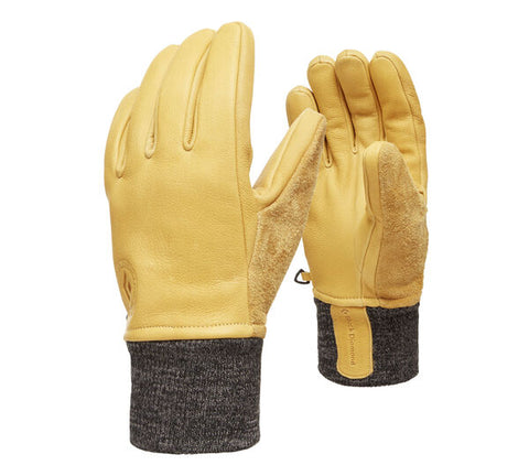 Black Diamond - Dirt Bag Gloves, Large - Natural