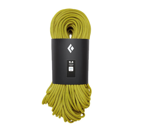 Black Diamond - 9.4 Climbing Rope, 60m, Gold