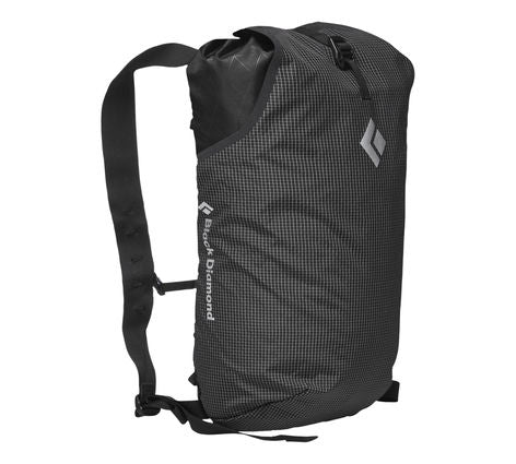 Black Diamond - Trail Blitz 12. This backpack is great for those looking for a light weight compactable day pack for traveling or to use on day hikes in the great outdoors.