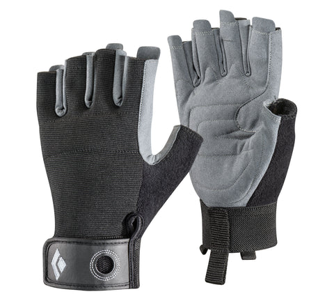 Black Diamond - Crag Half -Finger Gloves, Black