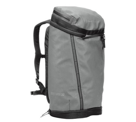 Black Diamond - Creek Transit 32. Great to use around town, take traveling, use on day hikes in the great outdoors, or a place to put your emergency supplies.