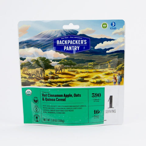 Backpackers Pantry - Organic Hot Cinnamon Apple, Oats & Quinoa Cereal