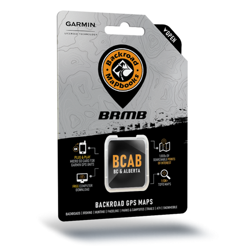 BRMB - BC / AB GPS Maps - SD Card