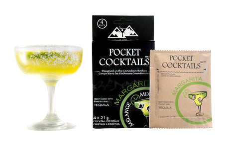 Bar Country - Pocket Cocktails Mix, Margarita. Enjoy your favourite drink while relaxing in the great outdoors