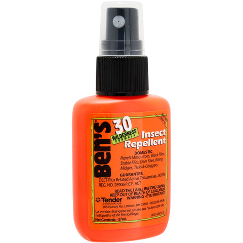 Ben's - 30 1.25oz Pump. Stay protected from all those annoying insects while enjoying the outdoors. It would also make a great addition to your emergency or survival kit.