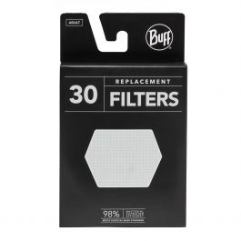 Buff - Replacement Mask Filters (30 Pack), kids and adult sizes