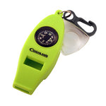 Coghlan's - 4 Function Whistle. Add this whistle to any emergency or survival kit.