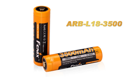 Fenix - ARB-L18-3500 mAh, Rechargeable Li-ion Battery (2 Pack)