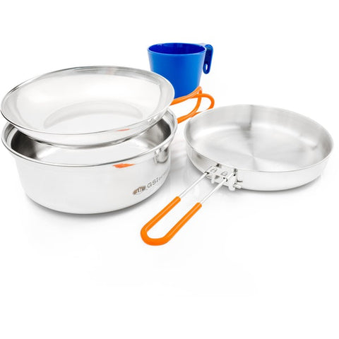 GSI - Glacier Stainless 1 Person Mess Kit