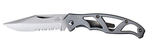 Gerber - Paraframe Mini Folding Knife, Serrated Edge. Great addition to your outdoor equipment and emergency /survival kit