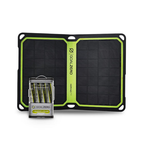 Goal Zero - Guide 10 + Solar Kit with Nomad 7